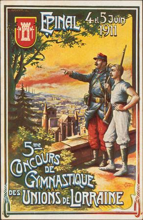 Épinal, 4 et 5 Juin 1911, 5me Concours de Gymnastique des Unions de Lorrai…