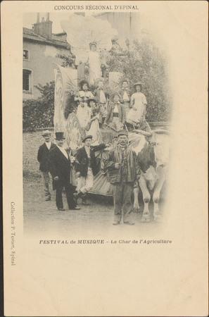 Concours régional d'Épinal, Festival de Musique, Le Char de l'Agriculture