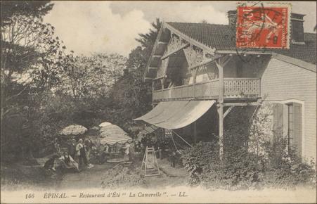 """Épinal, Restaurant d'Eté """"La Camerelle"""""""