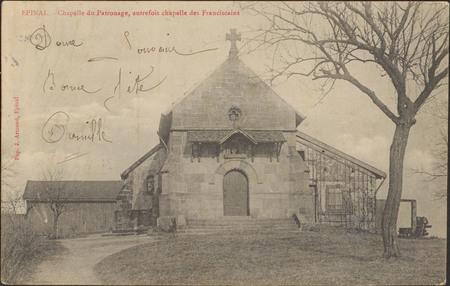 Épinal, Chapelle du Patronage, autrefois chapelle des franciscains