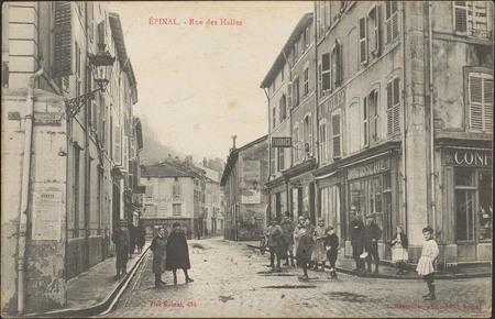 Épinal, Rue des Halles