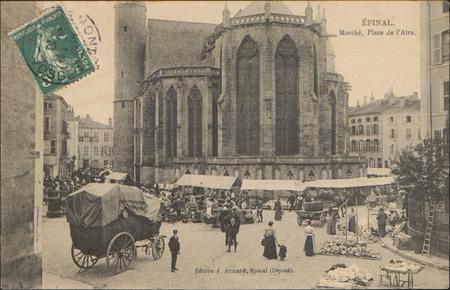 Épinal, Marché, Place de l'Atre