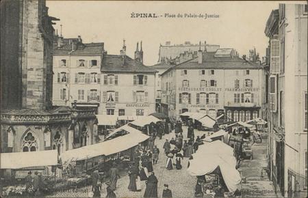 Épinal, Place du Palais-de-Justice