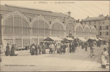 Épinal, Le Marché Couvert