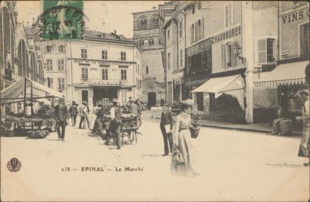 Épinal, Le Marché