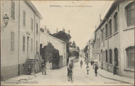 Épinal, Entrée du Faubourg d'Alsace