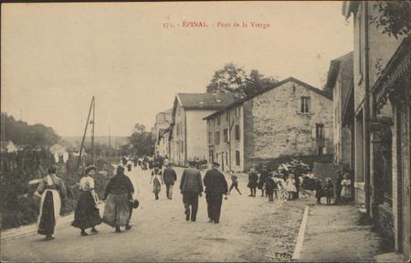 Épinal, Pont de la Vierge
