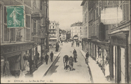 Épinal, La Rue du Pont