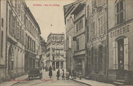 Épinal, Rue du Collège