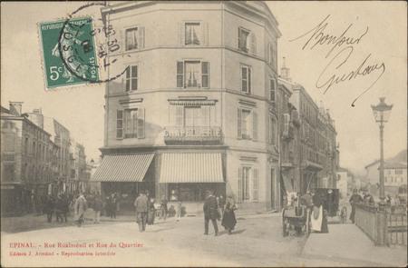 Épinal, Rue Rualménil et Rue du Quartier