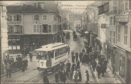 Épinal, Tramways Spinaliens, Arrêt de la Rue Léopold-Bourg