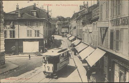 Épinal, Rue de Léopold-Bourg