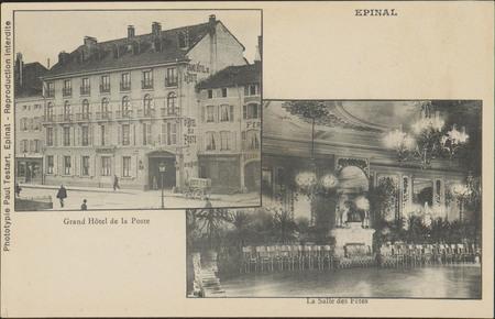 Épinal, Grand Hôtel de la Poste, La Salle des Fêtes