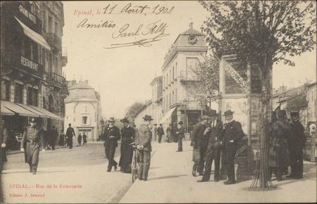 Épinal, Rue de la Faïencerie