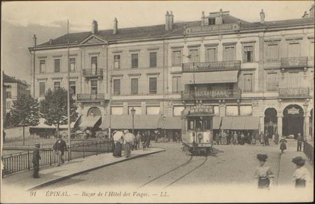 Épinal, Bazar de l'Hôtel des Vosges