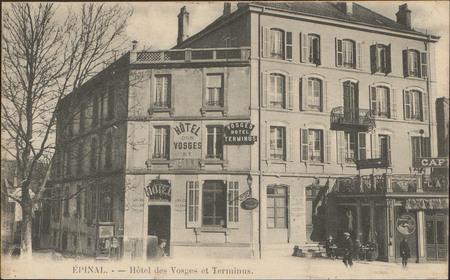 Épinal, Hôtel des Vosges et Terminus