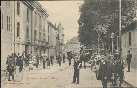 Épinal, Rue de la Gare