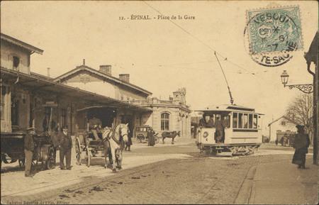 Épinal, Place de la Gare