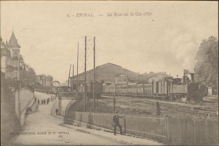 Épinal, La Rue de la Clé d'Or