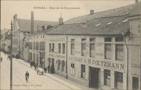 Épinal, Rue de la Fayencerie