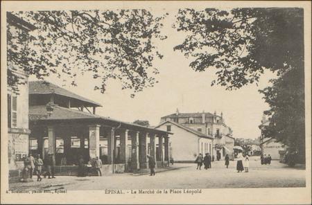 Épinal, Le Marché de la Place Léopold