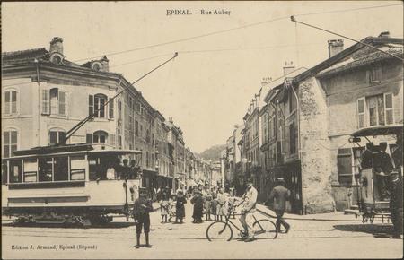 Épinal, Rue Aubert