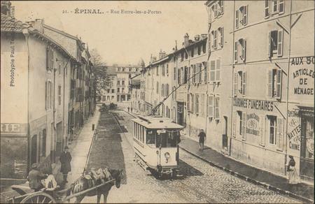 Épinal, Rue Entre-les-2-Portes