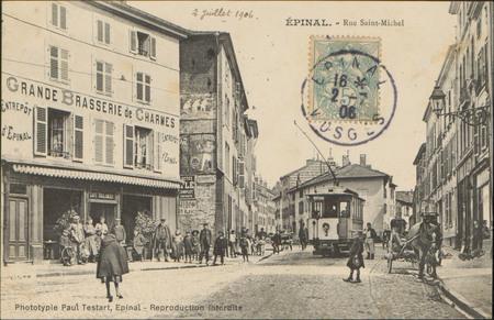 Épinal, Rue Saint-Michel