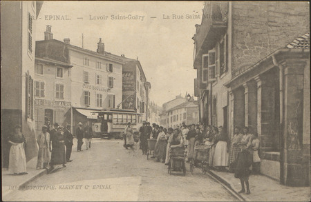 Épinal, Lavoir Saint-Goëry, La Rue Saint-Michel