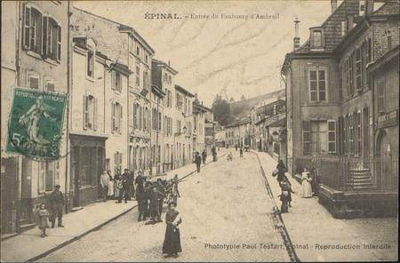 Épinal, Entrée du Faubourg d'Ambrail