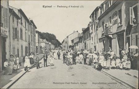 Épinal, Faubourg d'Ambrail