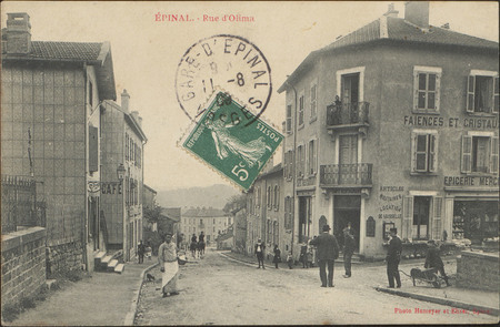 Épinal, Rue d'Olima