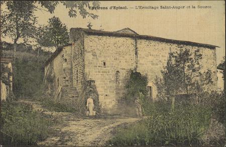 Environs d'Épinal, L'Ermitage Saint-Auger et la Source