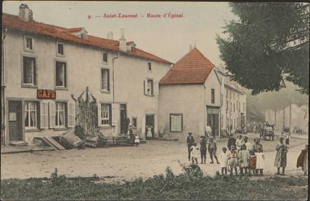 Saint-Laurent, Route d'Épinal