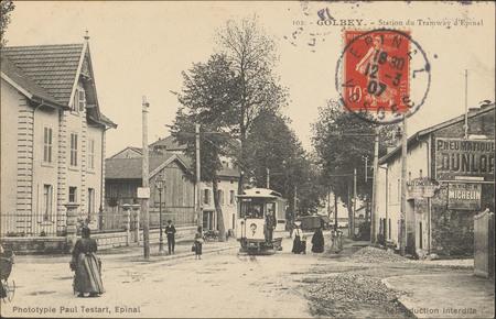 Golbey, Station du Tramway d'Épinal