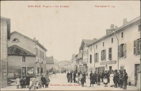Golbey (Vosges), Le Centre