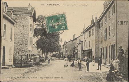 Golbey, Rue Principale (vers Épinal)