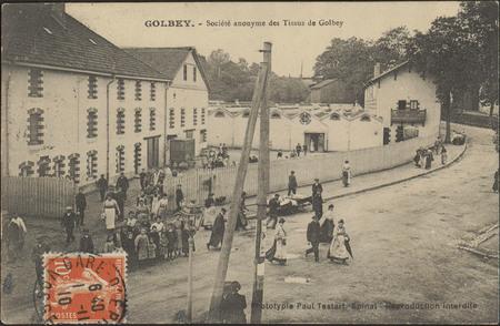 Golbey, Société anonyme des Tissus de Golbey
