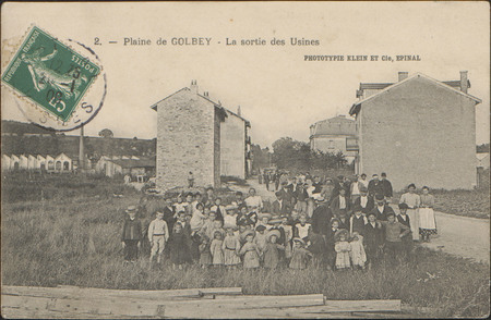Plaine de Golbey, La Sortie des Usines