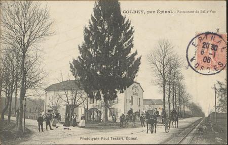 Golbey, par Épinal, Restaurant de Belle-Vue