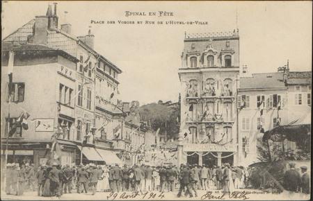 Place des Vosges et Rue de l'Hôtel de Ville