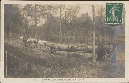Épinal, Charretiers en forêt
