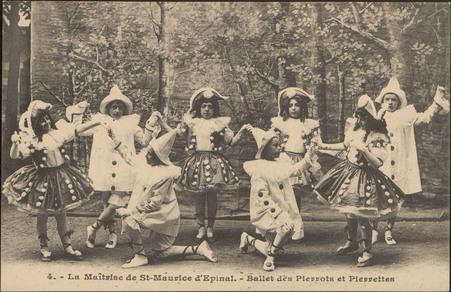 La Maîtrise de St-Maurice d'Épinal, Ballet des Pierrots et Pierrettes