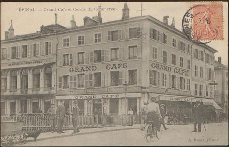 Épinal, Grand Café et Cercle du Commerce
