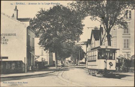 Épinal, Avenue de la Loge-Blanche