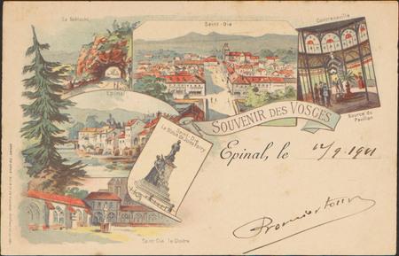 Souvenir des Vosges