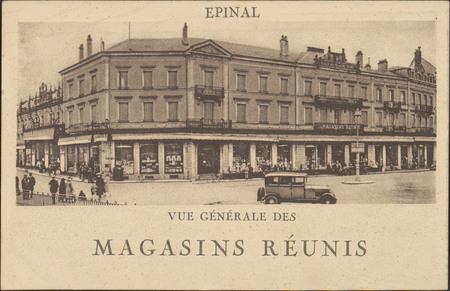 Épinal, Vue générale des Magasins Réunis