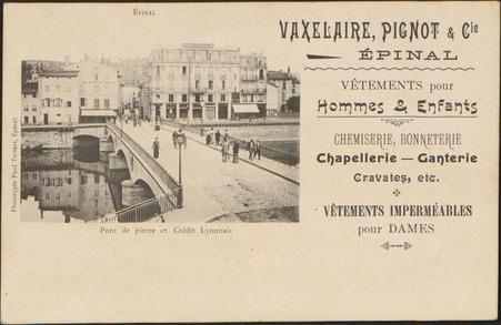 Épinal, Pont de Pierre et Crédit Lyonnais […]