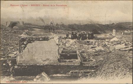 Environs d'Épinal, Bouzey, Ruines de la Pisciculture