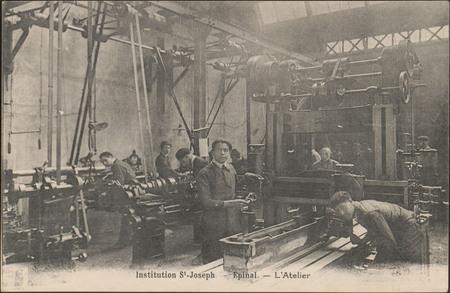 Institution St-Joseph, Épinal, L'Atelier